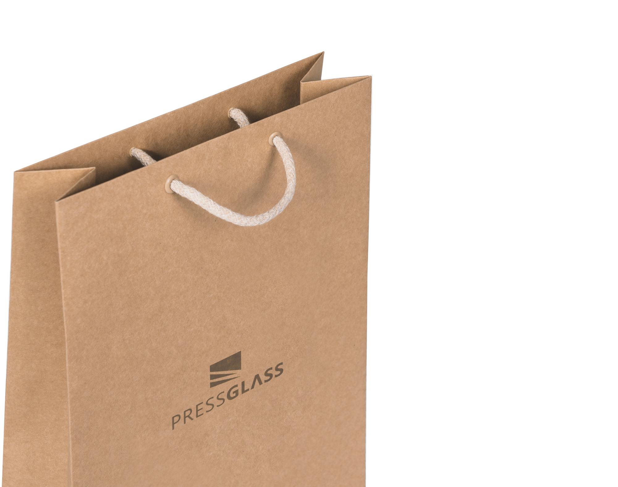 Ekologiczne torby papierowe - duże i małe